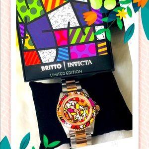 Invicta Britto Quartz Women's Watch 38MM